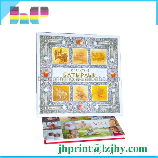 Special finishing personalized printing cheap photo album for Order cheap prints online