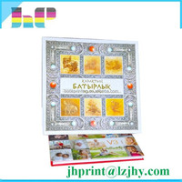 Special finishing personalized printing cheap photo album
