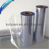 Custom design Plastic pvc heat shrink film for bottle label