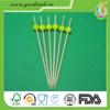 Disposable bamboo skewer/fruit picks