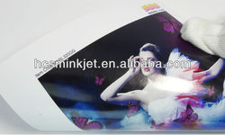 RC microporous coating glossy Self Adhesive Inkjet photo paper