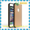 for iphone 6 tpu pc cell phone case with kickstand card slot
