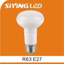 china ningbo plastic 7W 10W led bulb, R63 R80 E27 LED LIGHT with CE RoHS