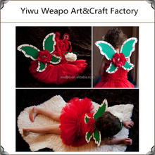 Factory Direct fairy kids butterfly wings with skirt,party butterful dress skirt,butterfly wing BW-307