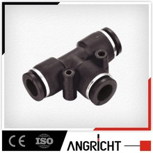 A107 China supplier plastic press air push fit fitting