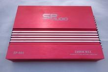 Red color 1000watt car amplifier , class AB amplifier , 4CH power amplifier