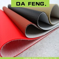 new design automotive litchi pattern pvc leather, pvc upholstery fabric, pvc car seat fabric leather