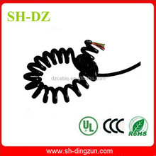 high performance stranded pvc jacket spring cable