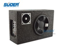 Suoer high quality 24V subwoofer 6 Inch Square Subwoofer Carpet Surface Subwoofer With Plug-in Card