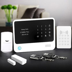New IP wireless burglar alarm system, home GSM+WiFi alarm panel & WiFi network home GSM alarm