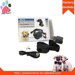passiontech BT-6 Rechargeable Dog Shock Collar Bark Terminator