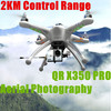 Hot 2015 camera drone AUTO Pathfinder QR X350pro aerial photography VS DJI drone helicopter
