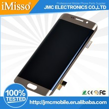 Factory Price Cellular Phone LCD Touch Screen Display For Samsung S6 Edge