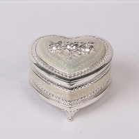 Home decoration,wedding decoration custom metal gift jewelry box