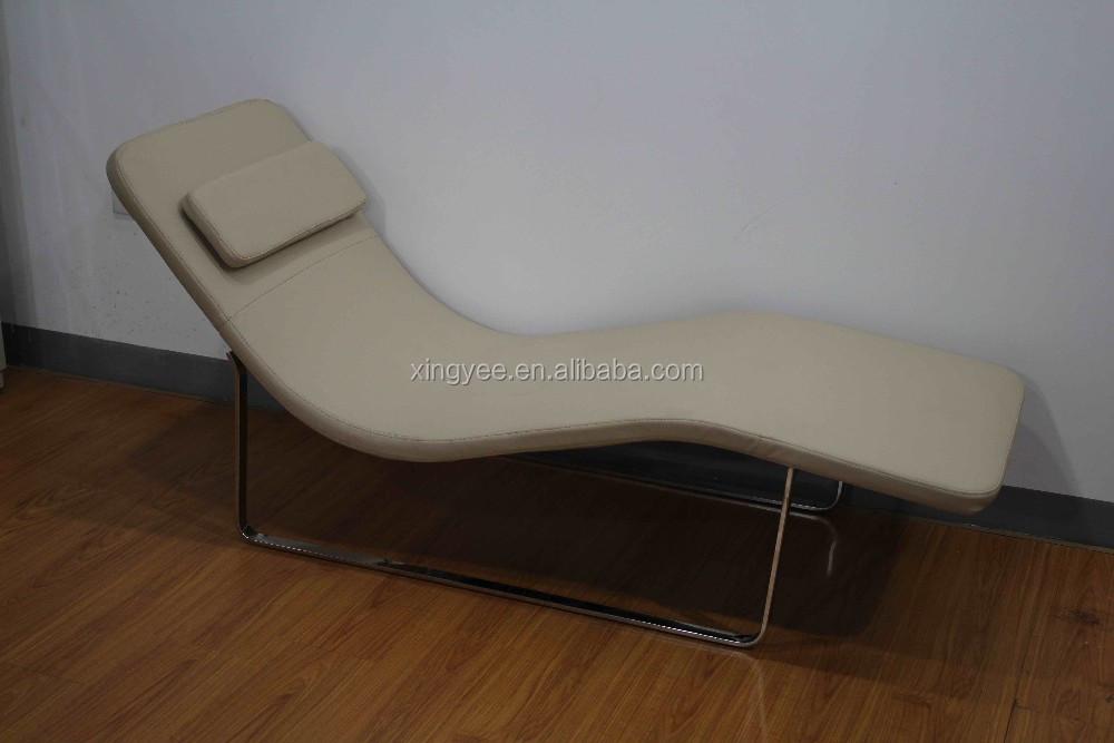Moderne chaise longue l 39 int rieur salon en gros salon de for Chaise de salon en cuir