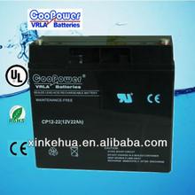 Maintenance-free Sealed Lead Acid UPS 12v 20ah batteries