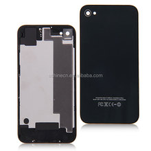 Black Glass Battery Back Cover for iPhone 4S Back Housing Cover for iPhone4S