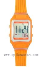 Multi-function outdoor new model students orange digital watch