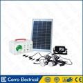 Carro eléctrico 12v 10w portátil sistema casero solar ces-1205