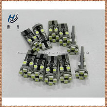 manufacturer w5w 194 168 8 SMD 3528 t10 canbus error free led