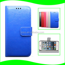 For iPhone 5 PC Protective Cover For 5S PC PU Cover for iPhone Accessories