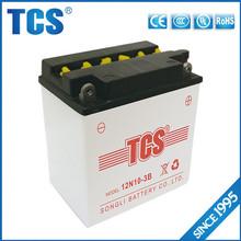 Accept custom service 10ah lead acid dry cell battery 12v