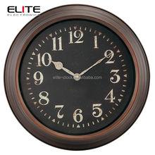 40.8 cm dia quartz metal wall clock