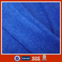 New arrival cotton polyester linen single jersey fabric