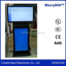 "Horizontal And Vertical Orientation 42"" 46"" 55"" 65"" Inch LCD Dual Screens Advertising Digital Sigange Display"