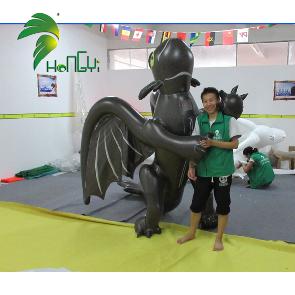 inflatable toothless dragon costume (4)