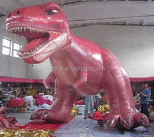 Events/party decoration inflatable animal/cartoon/multicolor/5M/RED/inflatable dinosaur W499