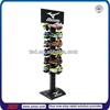 TSD-M002 Custom store sport shoes wooden metal shoe display/display shoe stand/shoe display unit