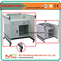 Stable Cashier Desk/Convenience Store Checkout Counters/Cashier Table