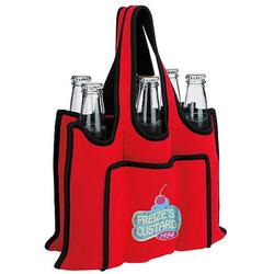 High Quality Promotion Custom Large Portable 6 Bottle Wine Cooler Bag