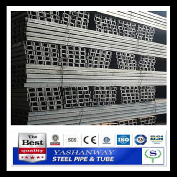 Ysw2015cチャンネル鋼熱間圧延チャンネル鋼棒100x50x5.0ミリメートル