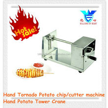Manual Stainless Steel Twisted Potato Slicer, Hand spiral Potato chip machine,Spiral Vegetable Cutter French Fry