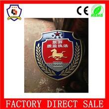 Metal,Copper, bronze, iron, zinc alloy metal craft coat of arms emblem (HH-emblem-068)