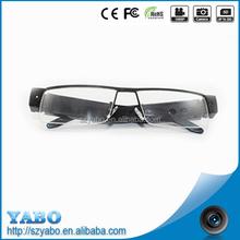 new design 720p 5mp micro camera glasses with very very small hidden camera