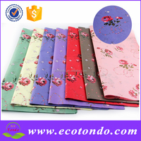 Special Offer 70cmx50cm colorful printed christmas flower gift wrapping paper