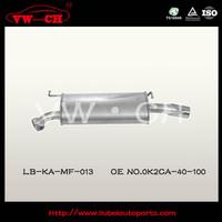 standard level noise reduction exhaust muffler0K2CA-40-100