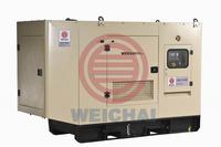 weichai power 250KW noiseless diesel generator