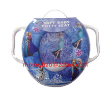 hot sale popular design foam toilet seat/baby seat/soft seat cover