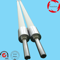 North Glass Tempering Furnace Fused Silica Ceramic Roller