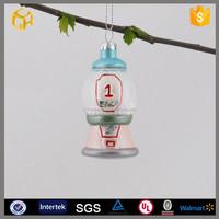 Hanging glass ball craft,solar powered garden ornaments