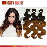 Qingdao ombre hair weaves aliexpress brazilian hair bundles