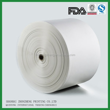 white kraft paper in roll, food grade, FDA ceritified.