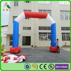 Amazing hot customized inflatable finish line arch/inflatable advertising arch/inflatable arch rental
