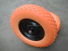 lawn garden inflatable wheel barrow tire