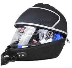 eva hard shell pilot helmet storage bag with portable handle