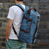 canvas outdoor bucket backpack travel bags for man